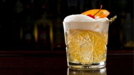 Whisky Sour - Drinks Natalinos que vão animar a sua festa de Natal