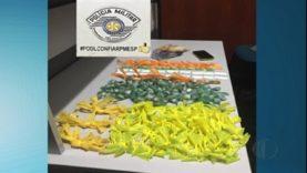 Três são detidos por suspeita de envolvimento com o tráfico de drogas em Itaquaquecetuba