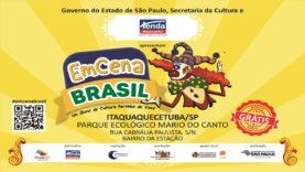 Itaquaquecetuba recebe Palco Móvel do EMCENA BRASIL confira