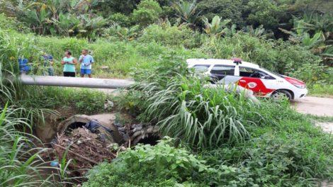 Corpo de homem é encontrado caído perto de tubulação em Itaquaquecetuba