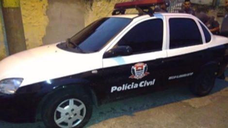 Viatura dublê da Polícia Civil é encontrada no Jardim Úrsulina, em Itaquaquecetuba