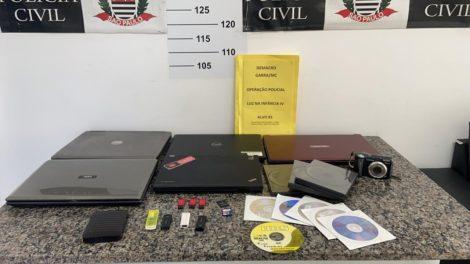 Um homem é preso em Itaquaquecetuba em operação internacional contra a pornografia infantil