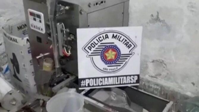 Refinaria de drogas é descoberta em imóvel do Parque Piratininga, em Itaquaquecetuba